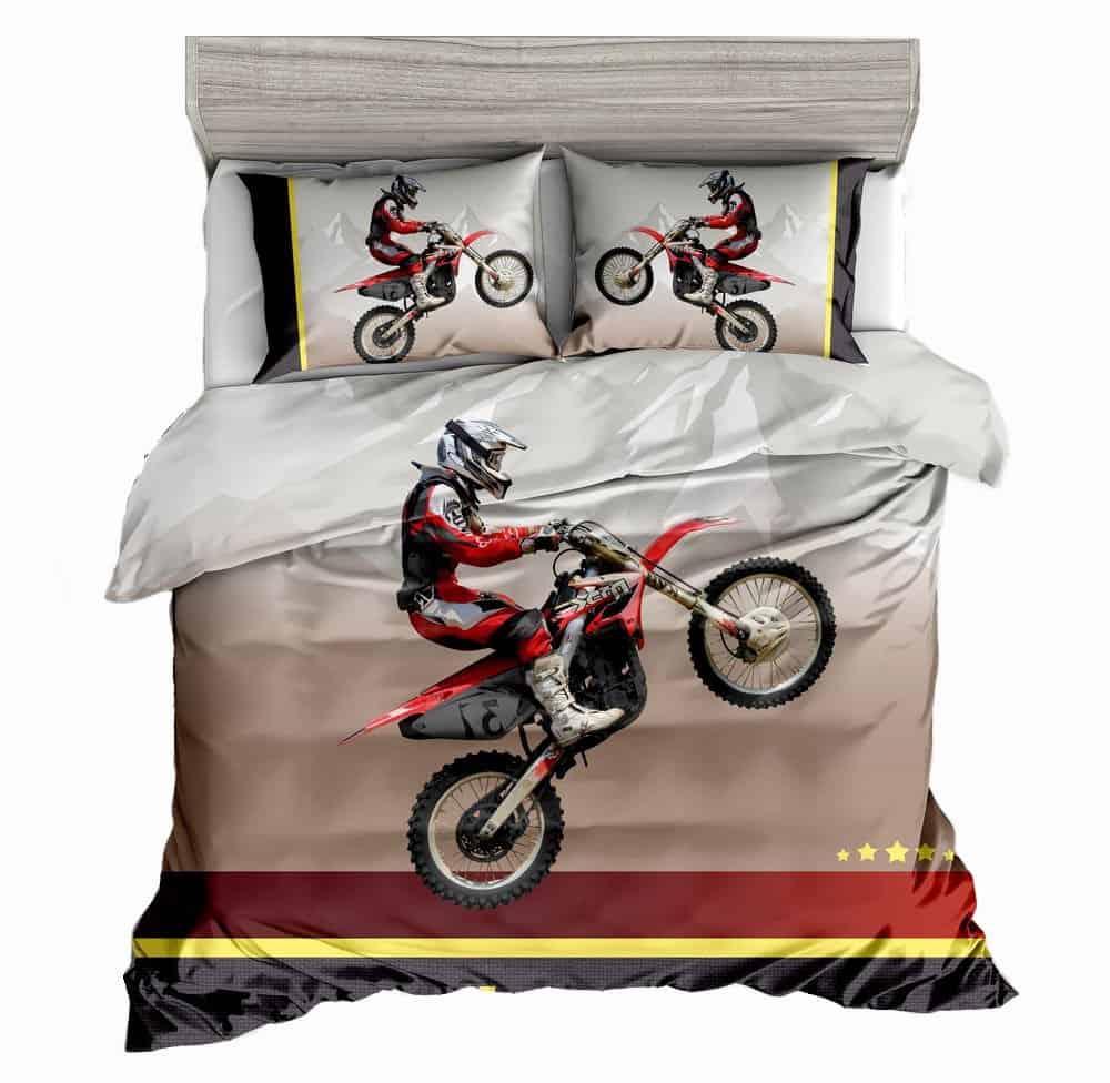 Boys Motocross Racing Bedsheets